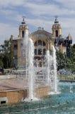 Avram Iancu Square, Cluj Napoca, Roemenië Royalty-vrije Stock Fotografie