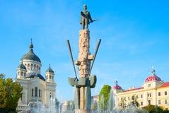 Avram Lancuand square, Cluj-Napoca Stock Photos