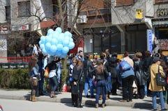 2 avril autisme de jours Photos libres de droits