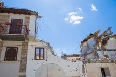 25 avril 2017, Camposto, province de L ` Aquila, Abruzzo, Italie Images libres de droits