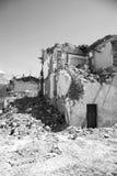 25 avril 2017, Camposto, province de L ` Aquila, Abruzzo, Italie Image libre de droits
