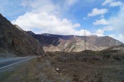 Avril dans Altai  Photo stock