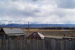 Avril dans Altai  Image stock