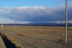 Avril dans Altai  Photographie stock