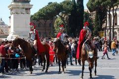 21 avril 2014, l'anniversaire de Rome Photo libre de droits