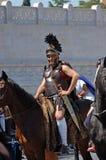 21 avril 2014, l'anniversaire de Rome Image libre de droits