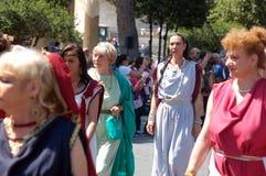 21 avril 2014, l'anniversaire de Rome Photos stock