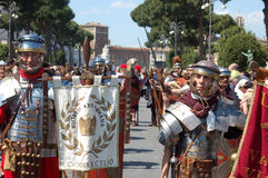 21 avril 2014, l'anniversaire de Rome Photographie stock