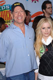 Avril Lavigne,Bruce Willis Stock Photo