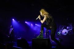 Avril Lavigne Performs In Jakarta arkivfoton