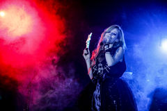 Avril Lavigne Performs In Jakarta. Indonesia Royalty Free Stock Photo