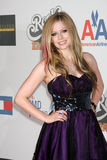 Avril Lavigne,THE ROCK Royalty Free Stock Photos