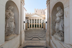 3 avril 2017, parc de DOS Pequenitos de Coimbra, Portugal - de Portugal Photo stock