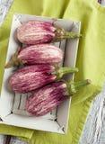 Avrivna aubergine Royaltyfria Bilder