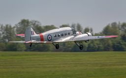 Avro Anson vintage aircraft stock images