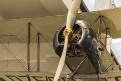 Avro 504K biplan Royaltyfria Bilder