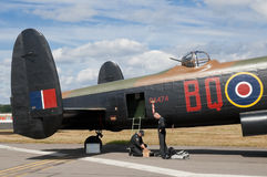 Avro Lancaster Royalty Free Stock Photography
