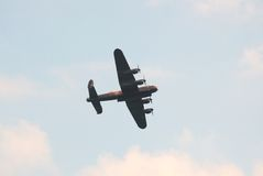 Avro Lancaster bomber Royalty Free Stock Photo