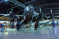 Avro Lancaster bomber at MOTAT 2 Stock Image