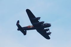 Avro Lancaster bomber Royalty Free Stock Images