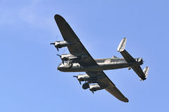 Avro Lancaster flypast Royalty Free Stock Image