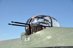 Avro Lancaster Gewehrdrehköpfe Stockfotografie