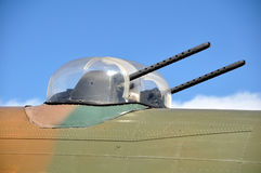 Avro Lancaster gun turrets Stock Photography