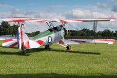 Avro Tutor bi plane Stock Photo