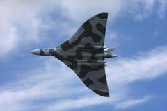 Avro Vulcan bomber in flight Stock Photo
