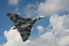 Avro Vulcan Bomber on its last display in the Netherlands Royalty Free Stock Photography