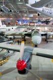 Avro Vulcan, Hawker  B.2, XH558 at Duxford Imperial War museum Royalty Free Stock Image