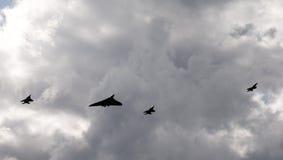 AVRO Vulcan XH558 Fotos de Stock Royalty Free