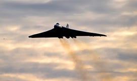 AVRO Vulcan XH558 Fotografie Stock Libere da Diritti