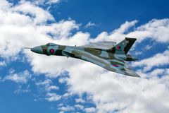 AVRO Vulcan XH558 Royalty Free Stock Photography