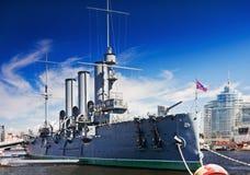 Avrora cruiser Royalty Free Stock Photography