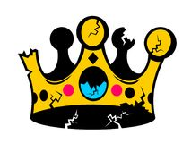 Avskaffande av monarki stock illustrationer