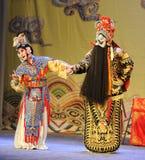 Avsked-Peking opera: Avsked till min concubine arkivfoto