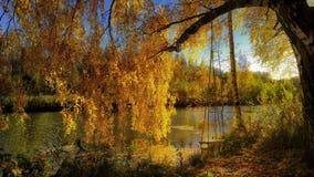 Avsked till hösten arkivfoto