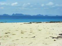 Avskild strand Thailand Royaltyfri Bild
