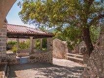 Avskild trädgård, Kroatien Royaltyfri Bild