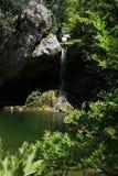 Avskild vattenfall Fotografering för Bildbyråer