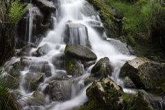 avskild vattenfall Royaltyfria Foton