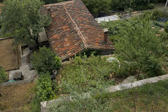 Avskildt hus Arkivbilder