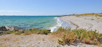 Avskilt C Y O'Connor Beach: Fremantle västra Australien Arkivfoto
