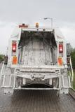 Avskrädet åker lastbil Royaltyfria Bilder