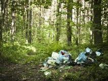 avskrädestapel Arkivfoto