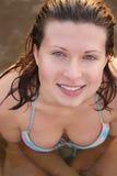 avslappnande kvinna arkivfoton