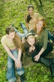 avslappnande kvinnor Royaltyfria Foton