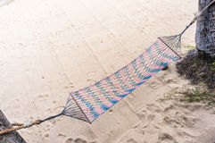 Avslappnande strand Arkivfoto