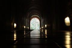 Avsluta av tunnelen Fotografering för Bildbyråer